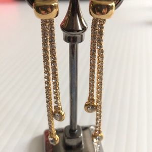 Merx Jewelry - Drop Crystal Earrings